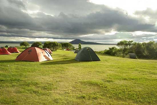 テント設営の注意点