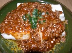 カレー麻婆豆腐