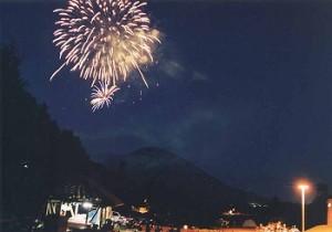 旭丘公園キャンプ場 倶知安祭 98'8