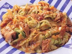 ホイコーロ(豚肉とキャベツの味噌炒め)