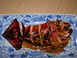 イカのゴロ味噌焼き