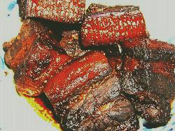 マーマレードの豚角煮