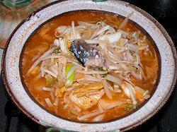 節約キムチ鍋