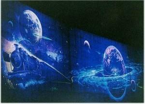 花巻 宇宙銀河鉄道の夜壁画 06'8