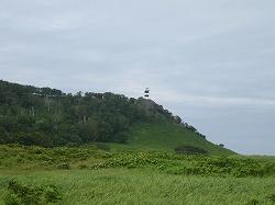 岬の上の高台