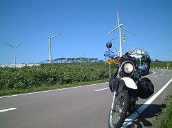 道々523号線 島牧から黒松内への道