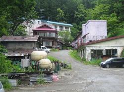 菅野温泉全景