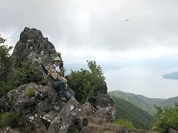 藻岩山トレッキング