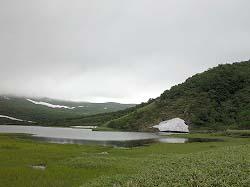 羅臼湖 入り口から1時間ほどのトレッキング