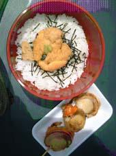 佐藤売店のうに丼 ¥1,000
