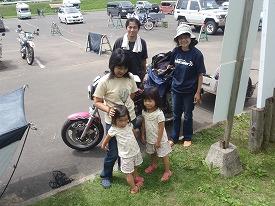 小島家と記念写真
