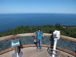 360℃のパノラマ サロマ湖展望台