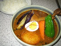 青龍苑のスープカレー