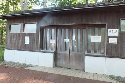 東大沼キャンプ場 トイレ