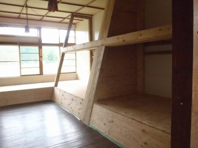 上興部ゲストハウス Kopper 居室2
