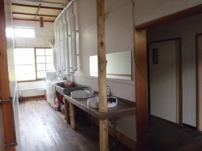 上興部ゲストハウス G.A Kopper 洗面所